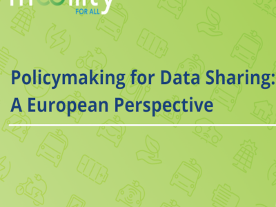 Policy making for data sharing: A European perspective