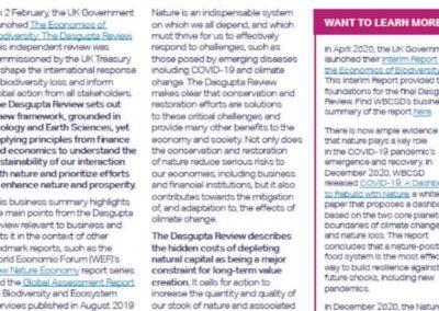 Dasgupta Review on the Economics of Biodiversity (2021)