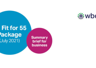 EU Fit for 55 – Business Summary